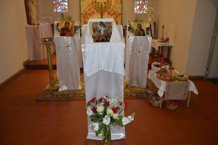 - la chapelle du Sacré Coeur prête pour la Pâque orthodoxe (2)