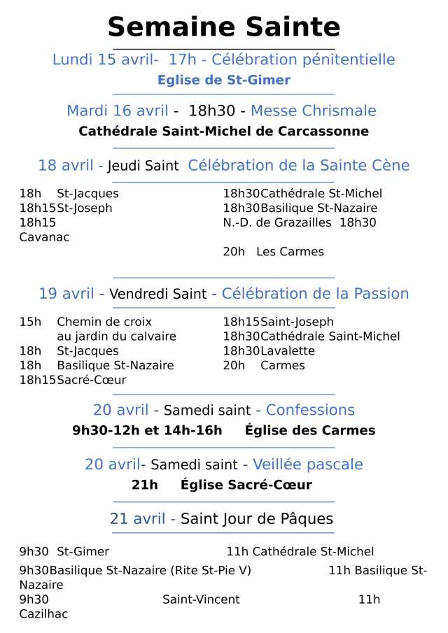 Semaine Sainte 2019-1
