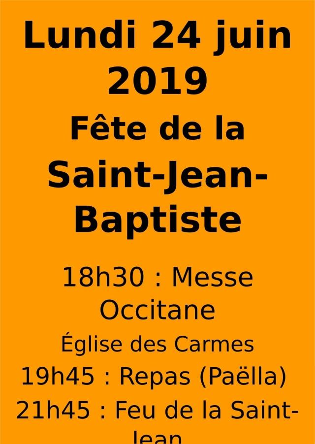 Affiche fête de la Saint-Jean 2019-1