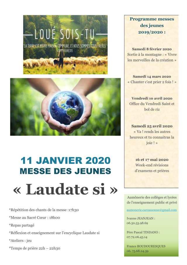 affiche messe des jeunes 11 janv 20-1