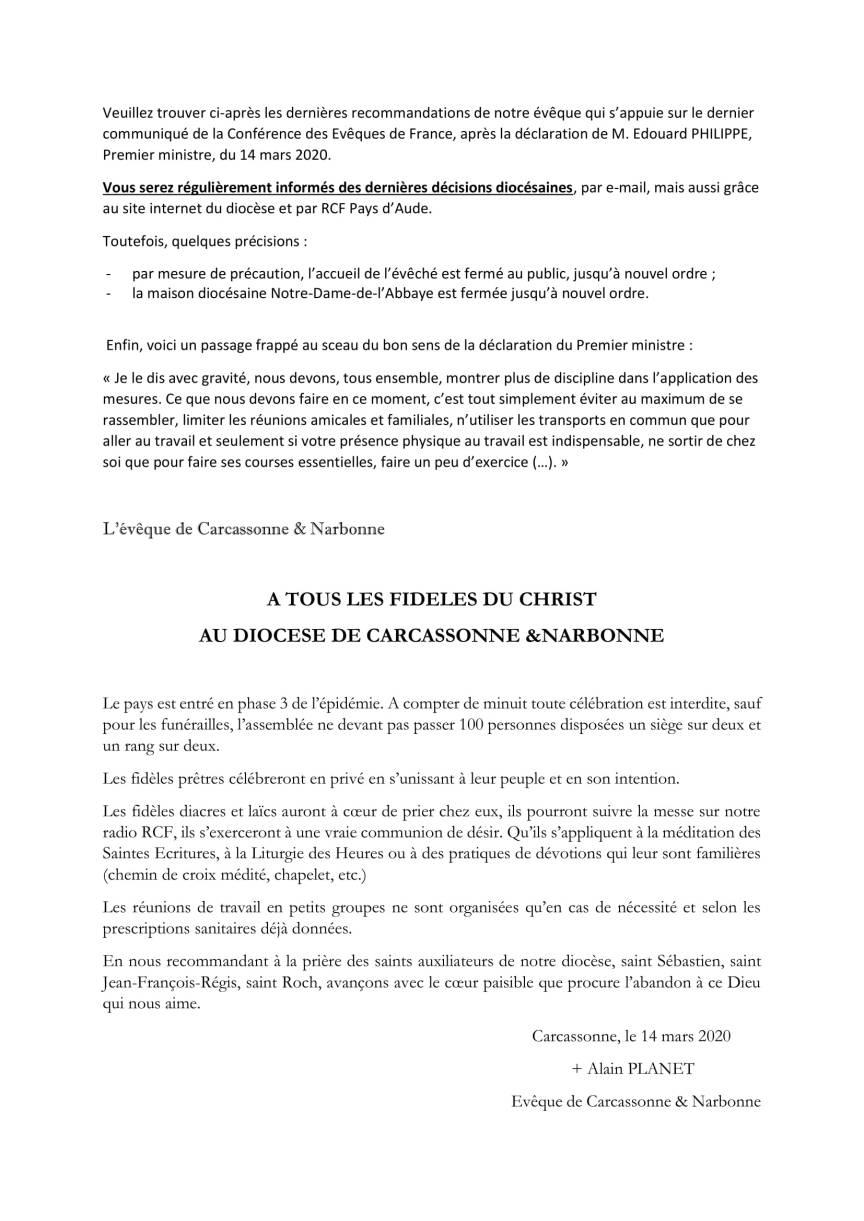 Covid-19 - dernières recommandations épiscopales - 2 (1)-1