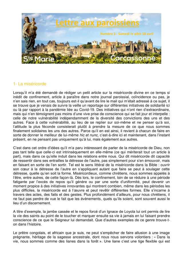 Lettre aux paroissiens - 3-1