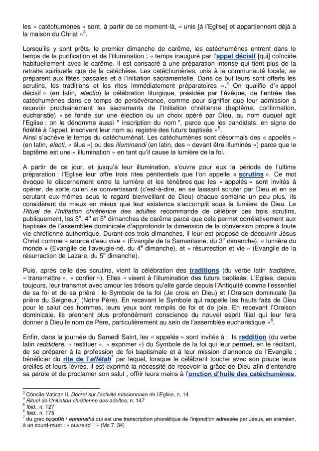Lettre aux paroissiens - 3-4