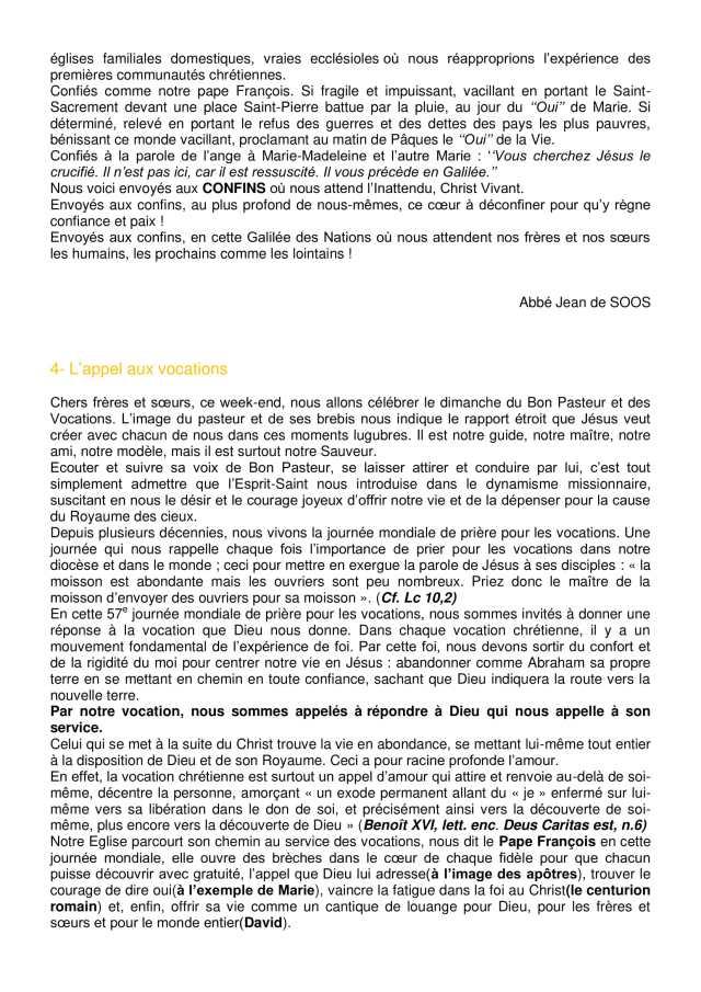 Lettre aux paroissiens - 5-3