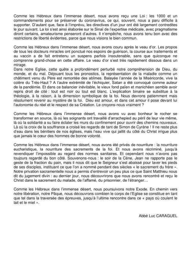 Lettre aux paroissiens - 6-3