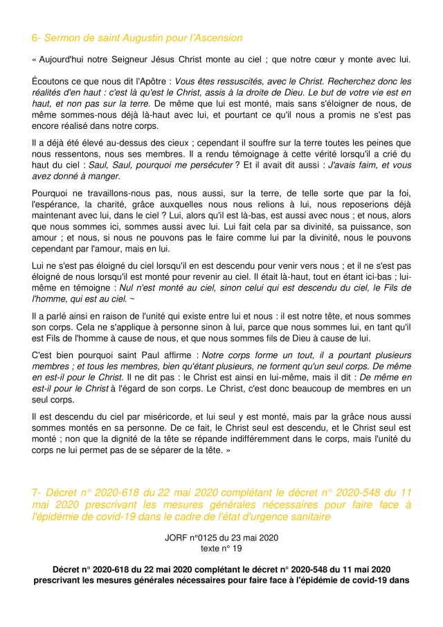 Lettre aux paroissiens - 8-3