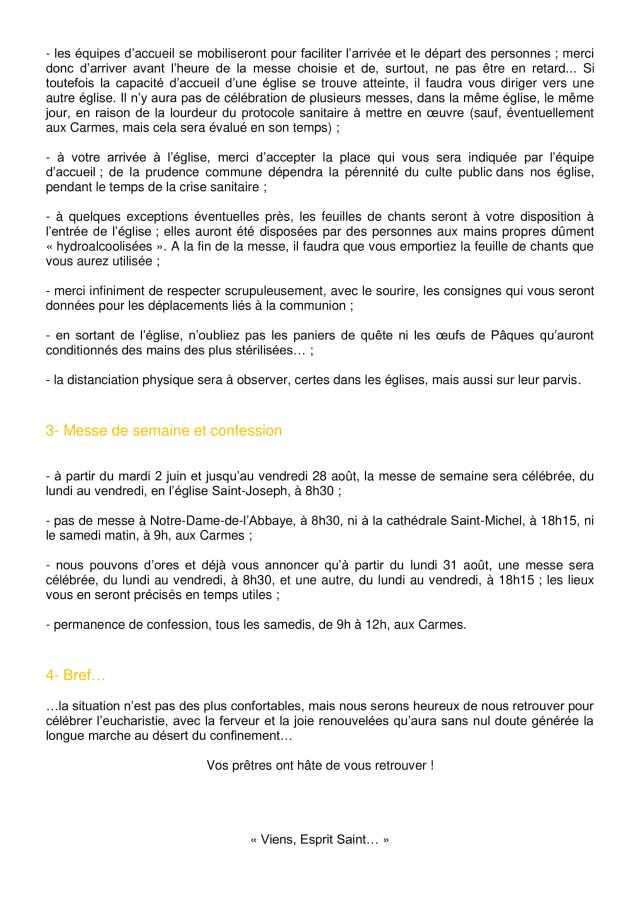 Lettre aux paroissiens - 9-2
